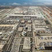 Bản đồ sân bay Los Angeles - LAX - California, Mỹ