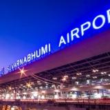 Bản đồ sân bay Suvarnabhumi (BKK) ở Bangkok, Thái Lan