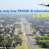 Vé máy bay TPHCM đi Islamabad (Sài Gòn – Islamabad, ISB) Thai Airways