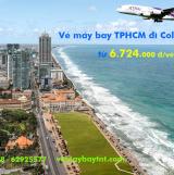 Vé máy bay TPHCM đi Colombo (Sài Gòn Colombo, CMB) Thai Airways