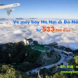 Vé máy bay Hà Nội Đà Nẵng giá rẻ từ 533.000 đ