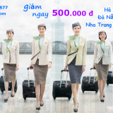 Đặt vé máy bay Bamboo Airways giảm ngay 500.000 đ