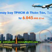 Vé máy bay TPHCM đi Thiên Tân (Sài Gòn–Tianjin) China Southern 6.045k