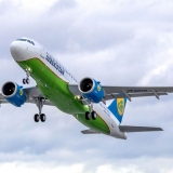 Uzbekistan Airways nhận bàn giao chiếc Airbus A320neo đầu tiên