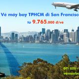 Vé máy bay Hồ Chí Minh San Francisco (SGN – SFO) Asiana từ 9.765k