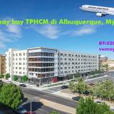 Vé máy bay TPHCM đi Albuquerque (ABQ - sân bay Sunport Albuquerque)