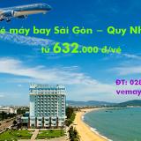 Vé máy bay Sài Gòn Quy Nhơn (TPHCM đi Phù Cát) tại vemaybaytnt.com