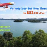 Vé máy bay Sài Gòn Thanh Hóa tháng 4/2020 (TPHCM đi Thanh Hóa) từ 852k