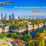 Vé máy bay từ Osaka về Đà Nẵng (KIX – DAD) giá rẻ nhất từ 4669k