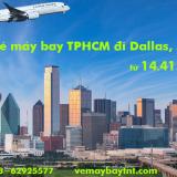 Vé máy bay Cathay Pacific TPHCM Sài Gòn đi Dallas (DFW) từ 14.415k