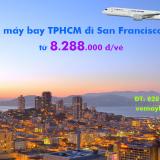 Vé máy bay Hồ Chí Minh San Francisco China Eastern Airlines từ 8.288k