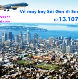 Vé máy bay Vietnam Airlines TPHCM Sài Gòn Seattle (SGN-SEA) từ 13.107k