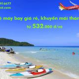 Vé máy bay giá rẻ tháng 5/2019, khuyến mãi rẻ nhất từ 532.000 đ