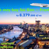 Vé máy bay Sài Gòn Frankfurt (TPHCM đi Frankfurt) Air China từ 8.279k