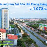 Vé máy bay Sài Gòn Hải Phòng, Hải Phòng đi TPHCM tháng 5/2019 từ 1072k