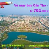 Vé máy bay Cần Thơ Thanh Hóa, từ Thanh Hóa đi Cần Thơ Vietjet từ 702k