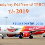 Giá vé máy bay Đài Nam về TPHCM (Tainan Sài Gòn) Vietjet tết 2019