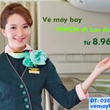 Vé máy bay Eva Air TP Hồ Chí Minh đi Los Angeles từ 8.963.000 đ