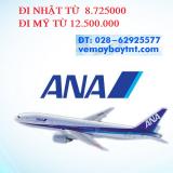 Vé máy bay giá rẻ Hãng All Nippon đi  Nhật, Mỹ