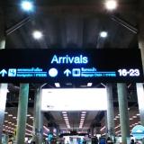 Hướng dẫn thủ tục đến – Arrival tại sân bay Suvarnabhumi, Bankok