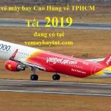 Giá vé máy bay Cao Hùng về TPHCM (Kaohsiung Sài Gòn) Vietjet tết 2019