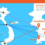 Vé máy bay giá rẻ Việt Nam Hàn Quốc