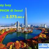 Vé máy bay TP Hồ Chí Minh đi Seoul tháng 10/2019 từ 3.575k