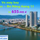 Vé máy bay Sài Gòn Đà Nẵng tháng 11/2019 giá rẻ từ 665.000 đ