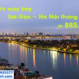 Vé máy bay Sài Gòn Hà Nội khuyến mãi tháng 11/2019 từ 885k