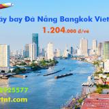 Vé máy bay Đà Nẵng Bangkok Vietjet Air chỉ từ 1.204.000 đ