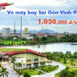 Vé máy bay Sài Gòn Vinh, Vinh đi TPHCM giá rẻ tháng 11 từ 1.050.000 đ