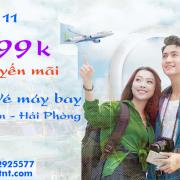 Vé máy bay khuyến mãi Sài Gòn TPHCM đi Hải Phòng tháng 11/2019