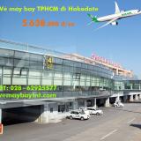 Vé máy bay TPHCM đi Hakodate (Sài Gòn – Hakodate) Eva Air từ 5.638k
