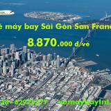 Vé máy bay Sài Gòn San Francisco (SGN-SFO) Eva Air Air từ 8.870.k