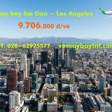 Vé máy bay Sài Gòn Los Angeles (TPHCM Los Angeles) Eva Air từ 9.706 k