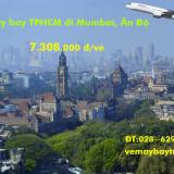 Vé máy bay TPHCM đi Mumbai (Sài Gòn Mumbai) Thai Airways từ 7.308k