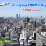 Vé máy bay TPHCM đi Nagoya (Sài Gòn Nagoya) China Airlines từ 6.234k