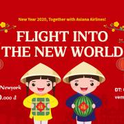 Vé máy bay từ TP.Hồ Chí Minh đi New York ưu đãi Asiana Airlines