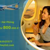 Vé máy bay TPHCM Sài Gòn Hải Phòng, Cát Bi Vietnam Airlines 2021